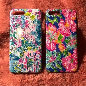 Lilly Pulitzer iphone 8plus case bundle